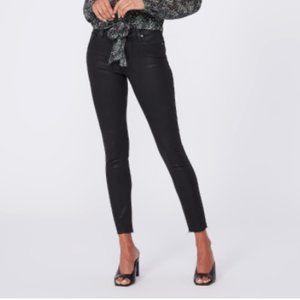 PAIGE DENIM Verdugo Ankle Skinny Raw Hem Jeans